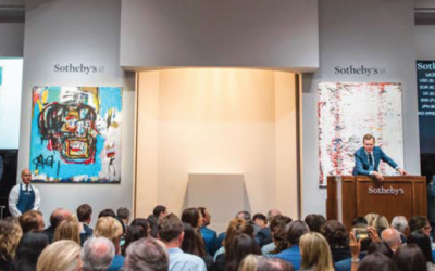 A Basquiat skull painting breaks $100 Million Barrier at Sotheby's