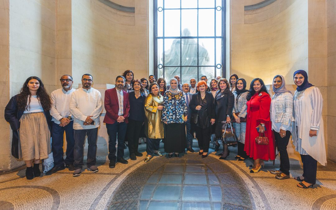 The opening of Bahrain Art Week at Grand Palais