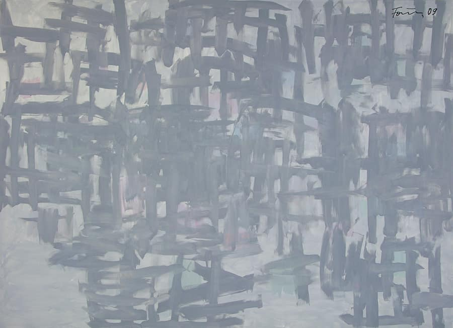 An abstract artwork of Günther Förg, Untitled (2009) from the Max Hetzler Gallery, Berlin