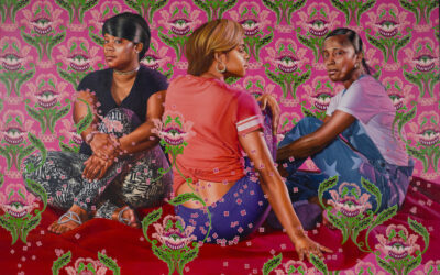 "Kehinde Wiley : ""A history of complicated gazing"""