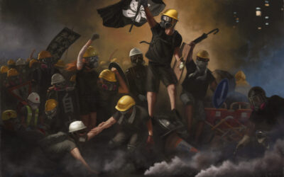 Water & Ashes for Creative (R)Evolution: Art in the HK Protests